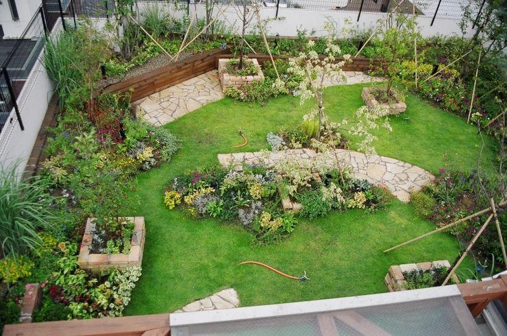 GAZON~ガゾン~ Moderner Garten Holz