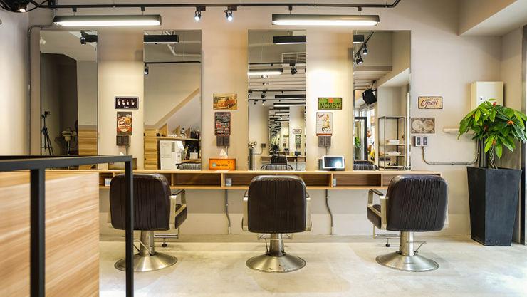 作業區 見和空間設計 商業空間 強化水泥 Grey