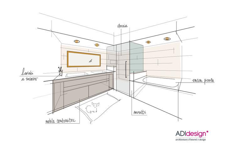 CHIHUAHUA | APPARTAMENTO ADIdesign* studio BagnoVasche & Docce
