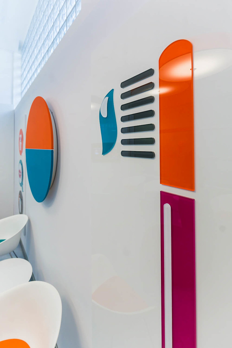pannelli decorativi ADIdesign* studio Cliniche moderne
