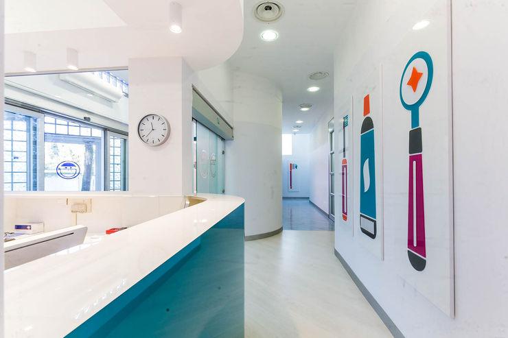 reception ADIdesign* studio Complesso d'uffici moderni