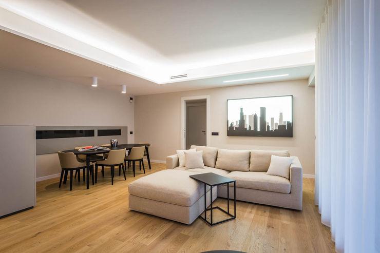 soggiorno moderno ADIdesign* studio Soggiorno minimalista