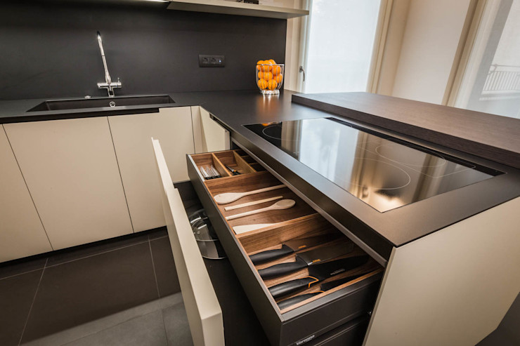arredo cucina ADIdesign* studio Cucina minimalista