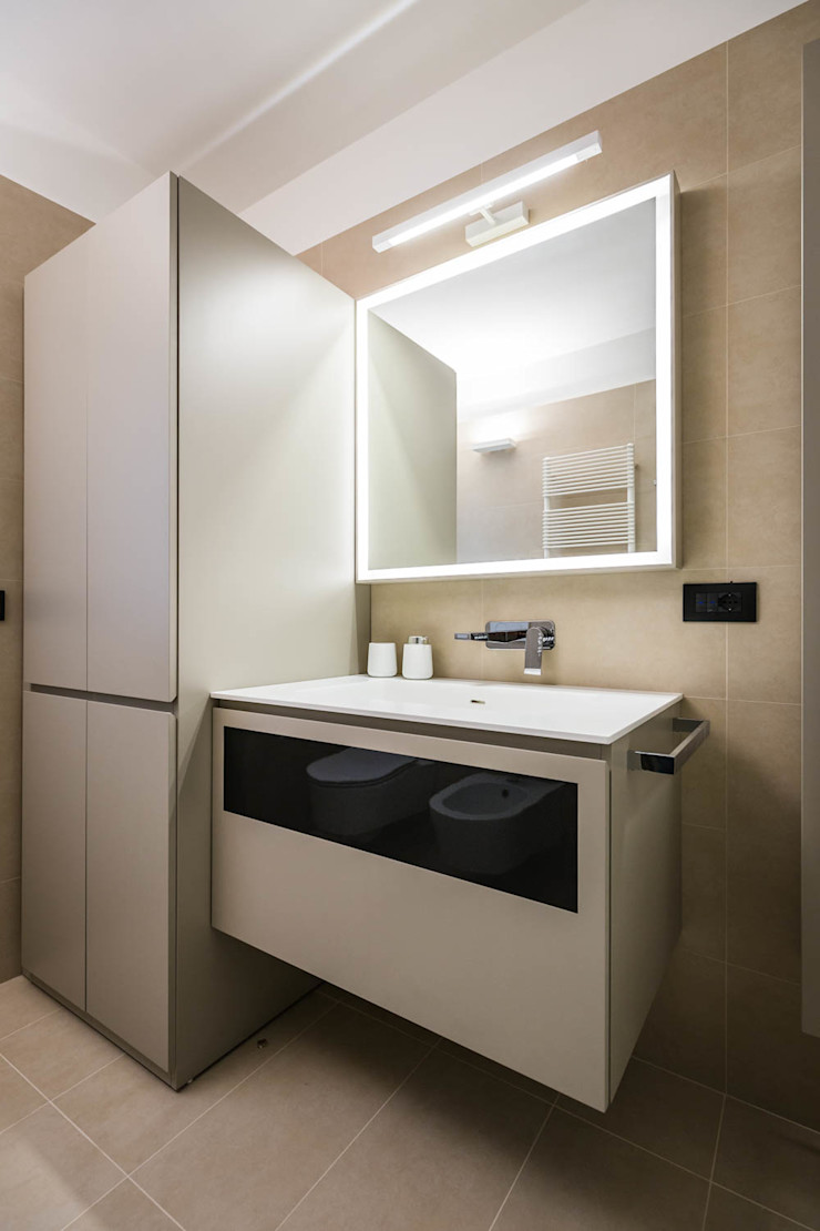 bagno ADIdesign* studio Bagno minimalista