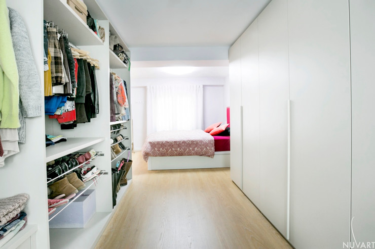 VESTIDOR DORMITORIO NUVART Dormitorios de estilo ecléctico