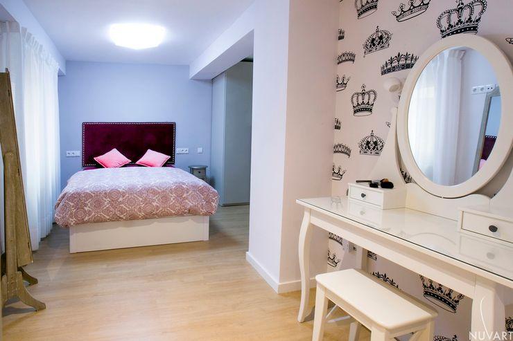 SUIT DORMITORIO NUVART Dormitorios de estilo ecléctico
