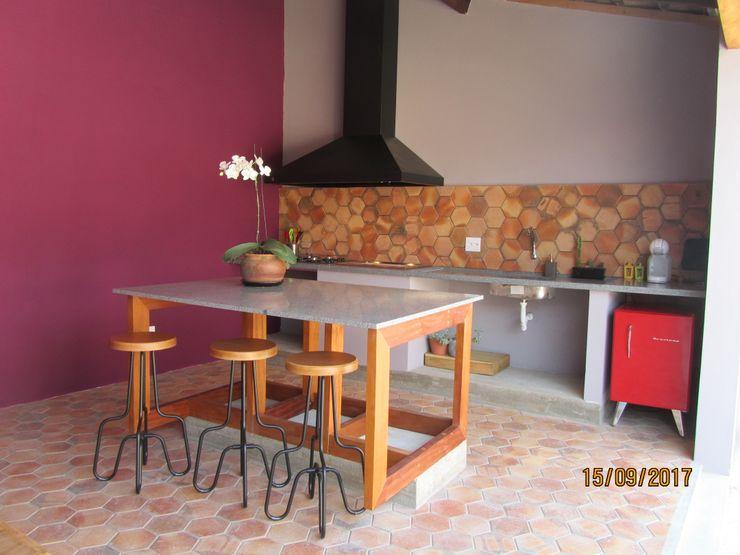 Gourmet RY Lozí - Projeto e Obra Cozinhas modernas