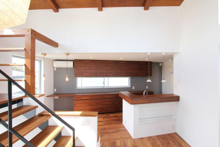 Order Furniture パープルウッドカウンターボード 85inc. キッチンキャビネット&棚 木 木目調