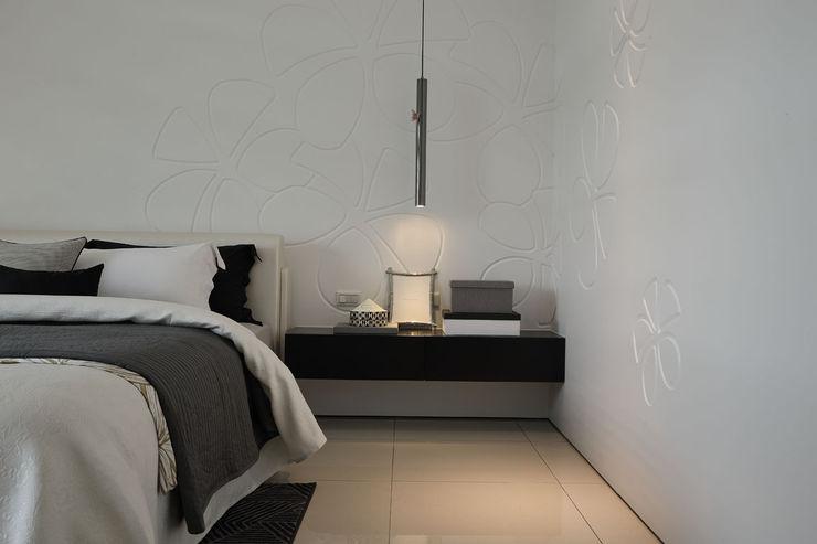 最簡單的黑白,卻藏著最精彩的語彙 楊允幀空間設計 臥室