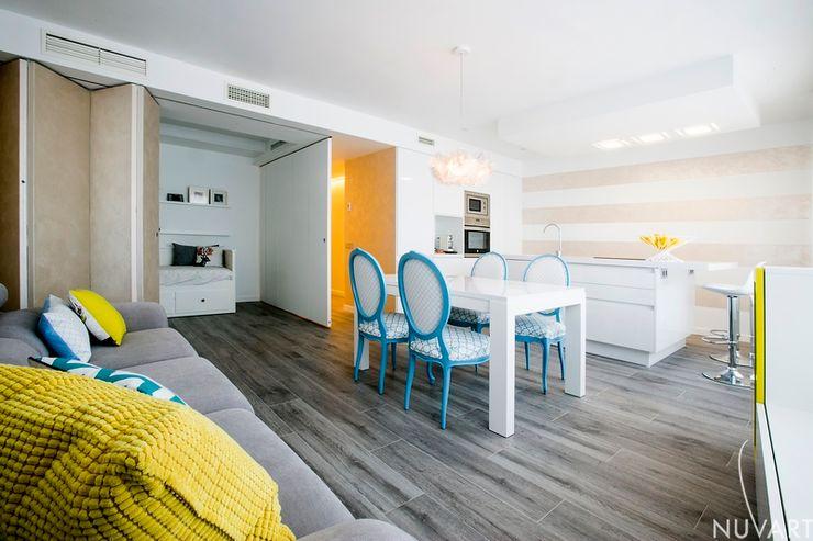 Vivienda Vila-Real NUVART Salones de estilo mediterráneo