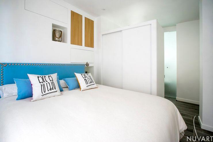 Vivienda Vila-Real NUVART Dormitorios de estilo mediterráneo