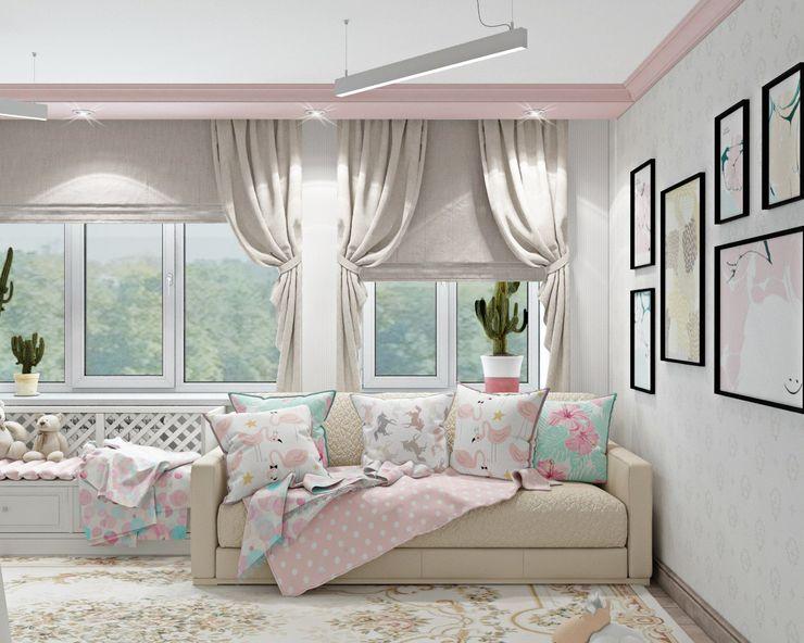 ДизайнМастер Classic style nursery/kids room Beige