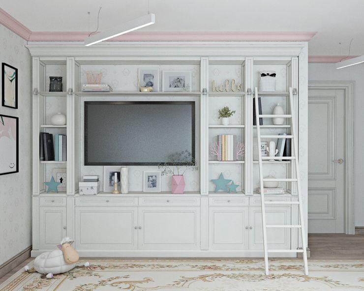 ДизайнМастер Classic style nursery/kids room White