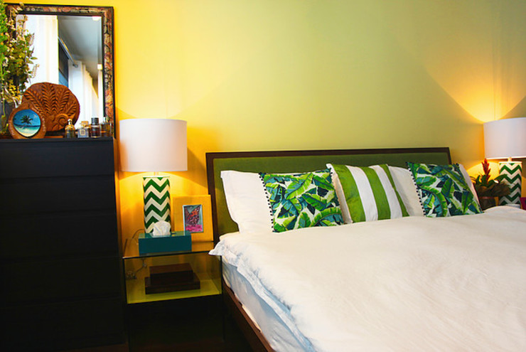 Emaar Lofts Family House Harf Noon Design Studio Eclectic style bedroom