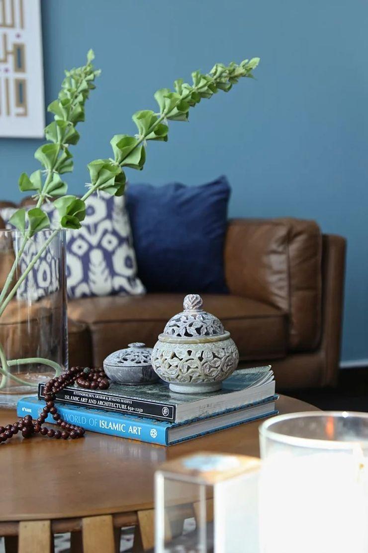 Emaar Lofts Family House Harf Noon Design Studio Eclectic style living room