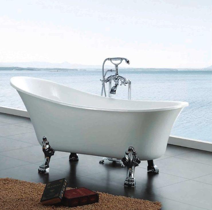 Prestij Banyo Classic style bathroom Metal White