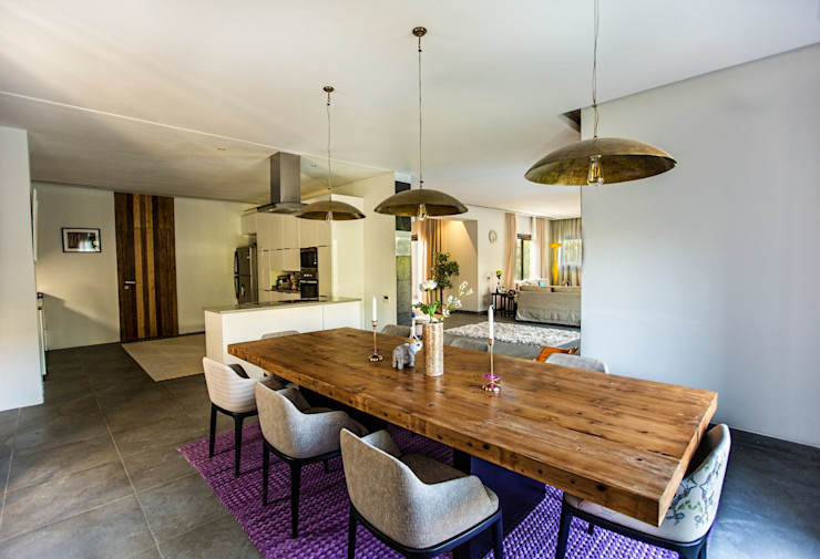 Marassi Villa Grid Fine Finishes Eclectic style dining room