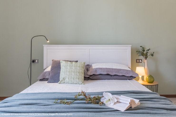MARIA LAKE Sapere di Casa - Architetto Elena Di Sero Home Stager Camera da letto moderna Verde
