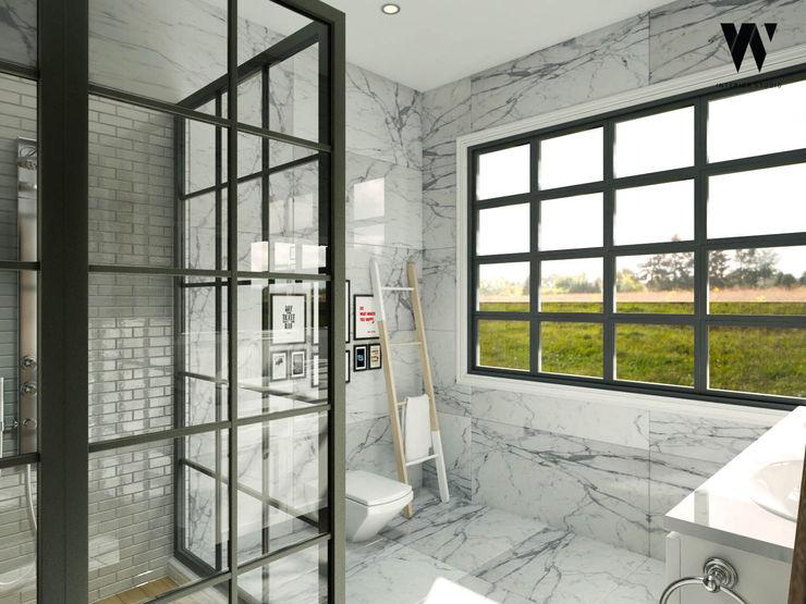 w.interiorstudio Klassische Badezimmer Weiß