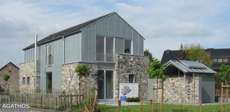 Neubau eines Einfamilienhauses Raeren/ Belgien Architekturbüro Sutmann Moderne Häuser