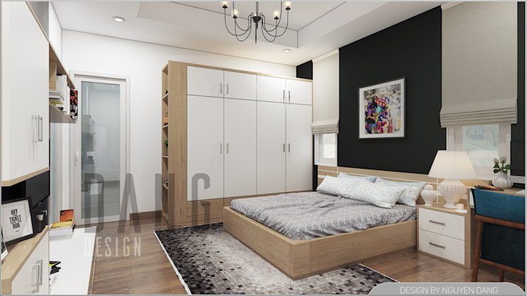 DCOR Asian style bedroom