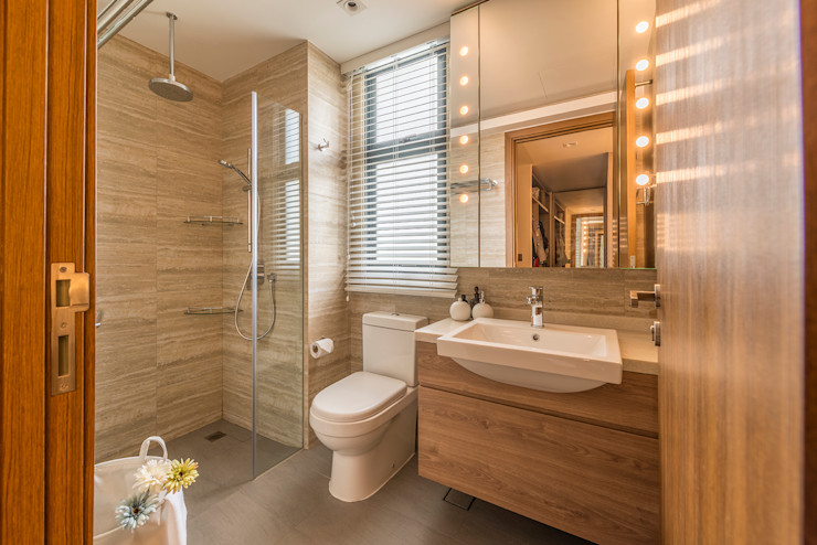 erstudio Pte Ltd 現代浴室設計點子、靈感&圖片