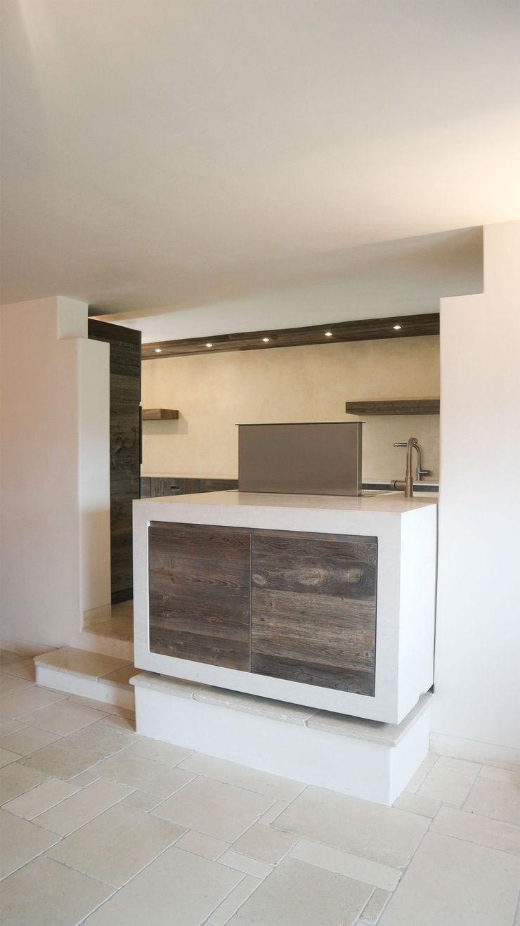 Design and functionality in your kitchen RI-NOVO Cucina attrezzata Legno Bianco