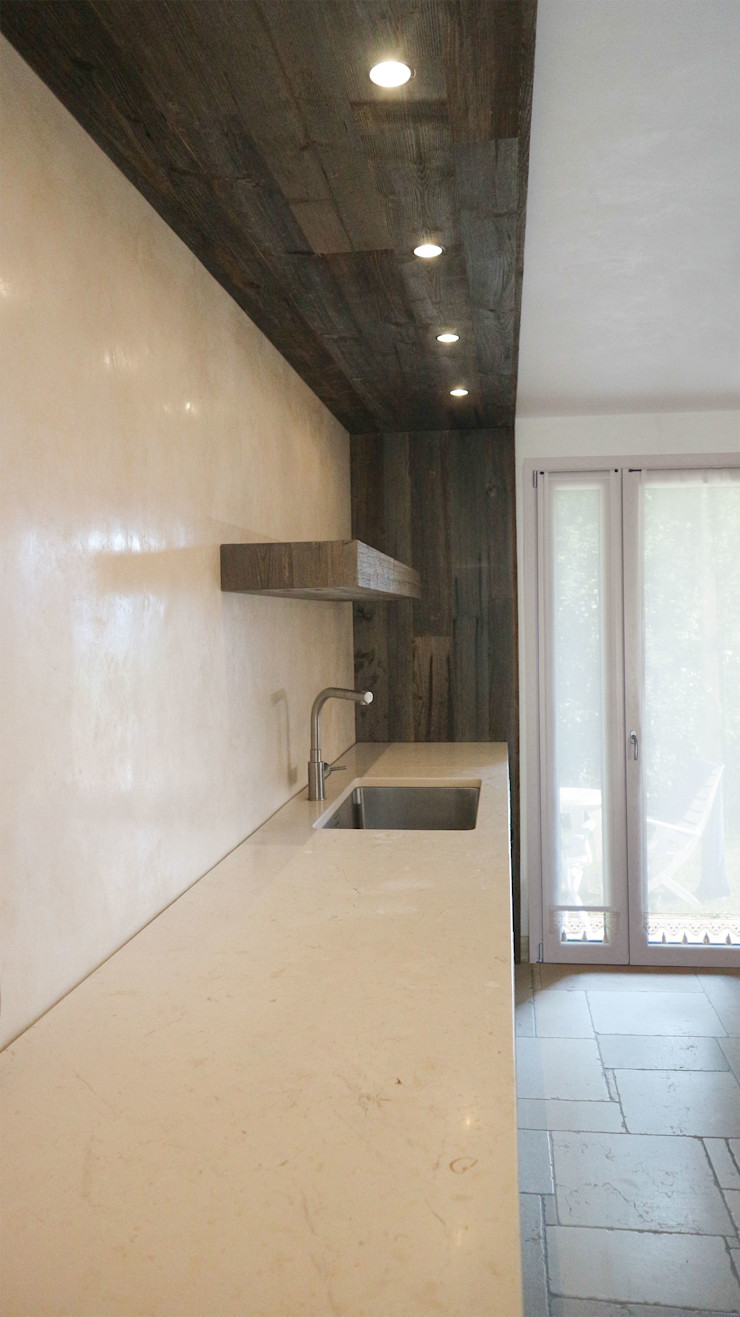 Design and functionality in your kitchen RI-NOVO CucinaPiani di lavoro Marmo Bianco