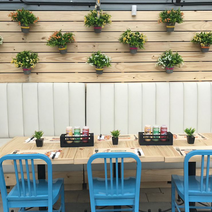 Ecologik Modern gastronomy Wood Blue
