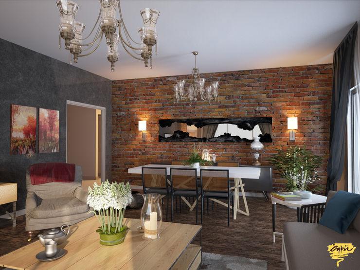 Özel projelendirme Öykü İç Mimarlık Modern Oturma Odası