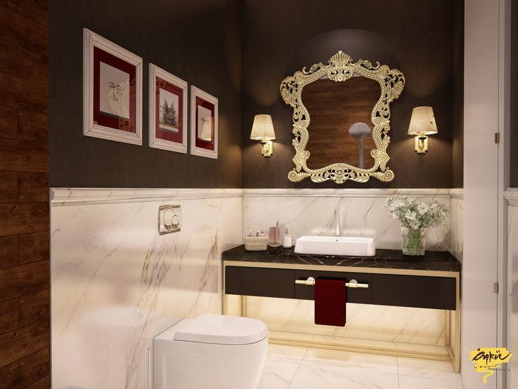 Özel projelendirme Öykü İç Mimarlık Modern Banyo