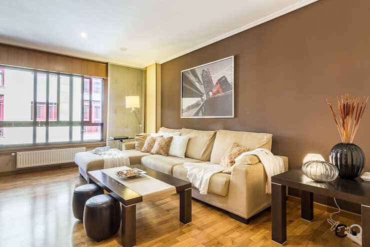 CCVO Design and Staging Living room Brown