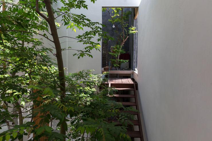 GERIRA ARCHITECTS Minimalist Duvar & Zemin