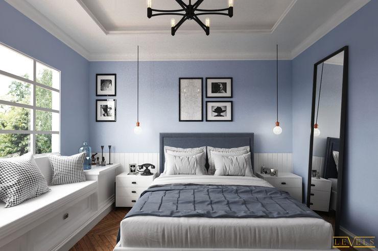 Spaces Levels Studio Eclectic style bedroom