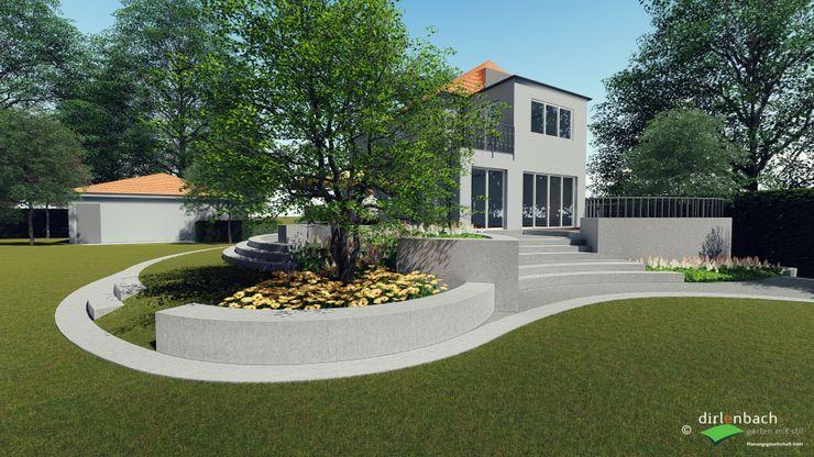 Visualisierung in der Planungsphase dirlenbach - garten mit stil Ausgefallener Garten