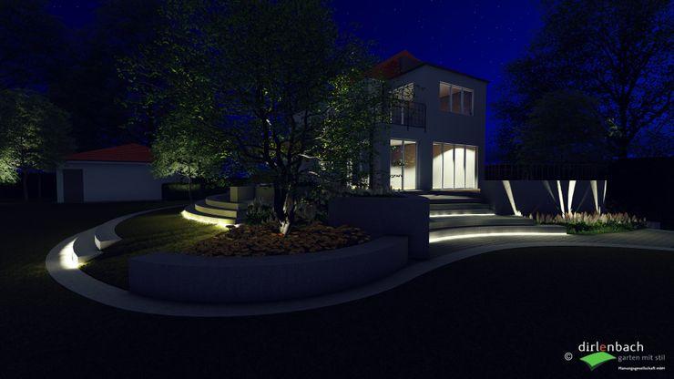 Beleuchtungsvorschlag in der Visualisierung dirlenbach - garten mit stil Ausgefallener Garten