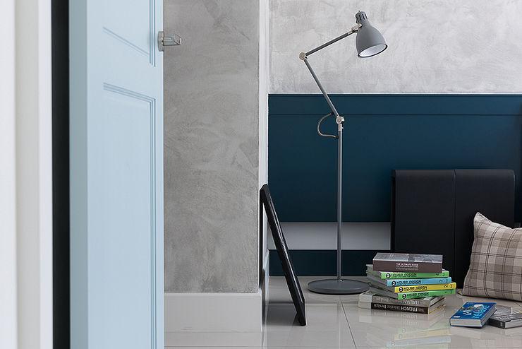 午後時光~純淨北歐 倍果設計有限公司 臥室 Grey