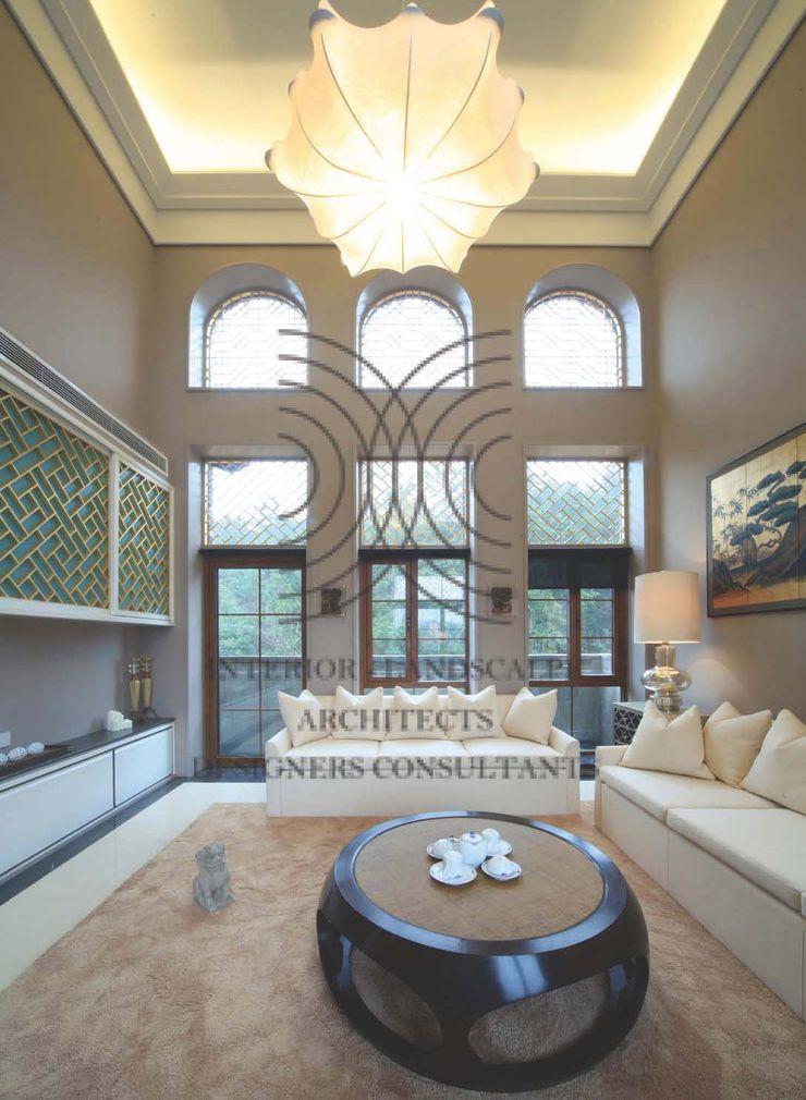 態度決定高度‧格局決定結局│客廳 大真室內裝修設計有限公司 客廳 實木 Wood effect