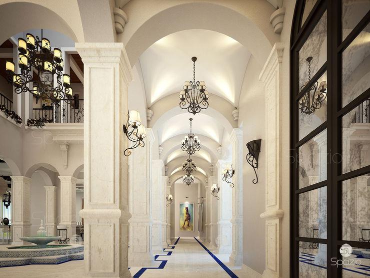 Spazio Interior Decoration LLC Коридор Мармур Білий