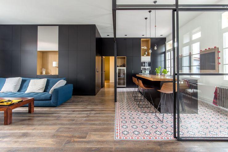 Brengues Le Pavec architectes Кухня