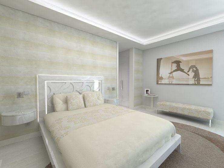 Quarto Enzo Rossi, Home Design Quartos minimalistas