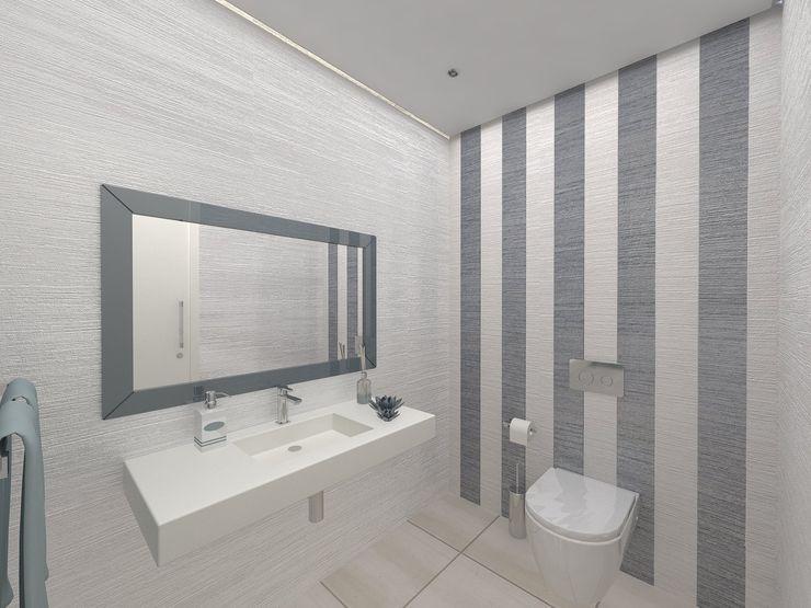 I.S. Social Enzo Rossi, Home Design Casas de banho minimalistas