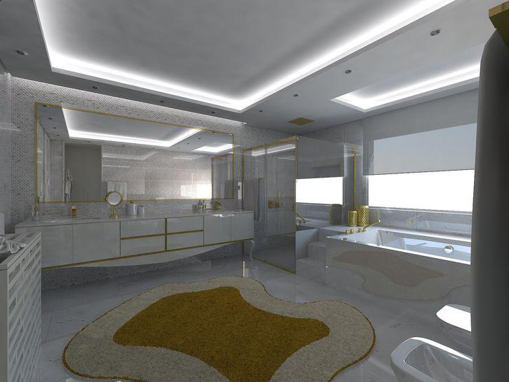 I.S. Suite Master Enzo Rossi, Home Design Casas de banho minimalistas