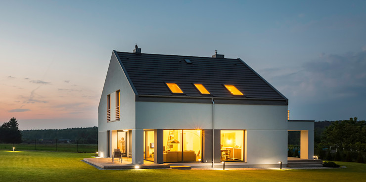 manufact M 21 Modern Home 163 New Classic manufact masterplan gbr | architects.engineers Einfamilienhaus Stein Mehrfarbig