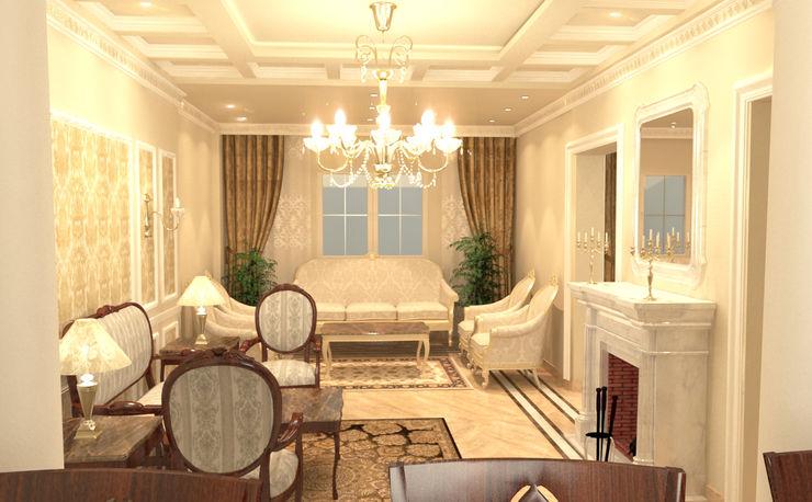 Quattro designs Salones de estilo clásico