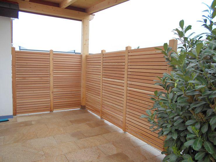 Holzbeläge, Sichtschutz, Zäune Garten-Landschaftsbau Hierreth-Felser GmbH Mediterraner Garten