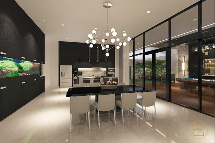 Sun House Arci Design Studio Ruang Makan Modern