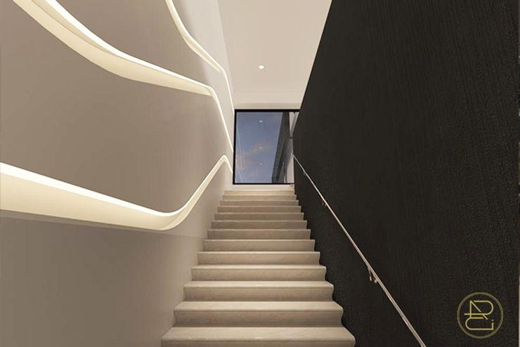 Sun House Arci Design Studio Koridor & Tangga Modern