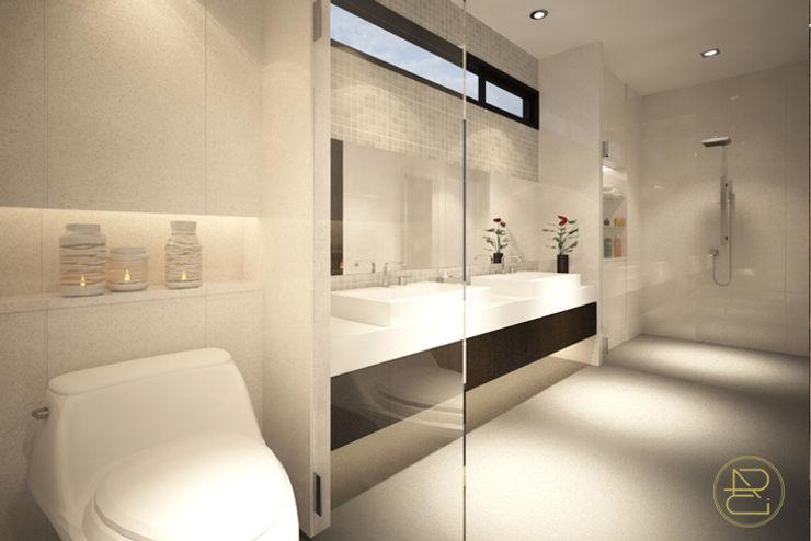 Sun House Arci Design Studio Kamar Mandi Modern