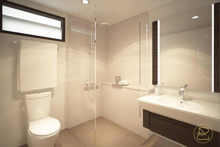SL House Arci Design Studio Kamar Mandi Modern